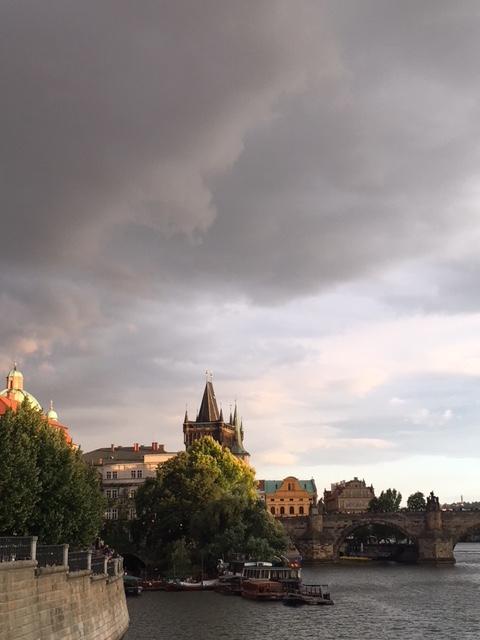 Terveisiä Prahasta!